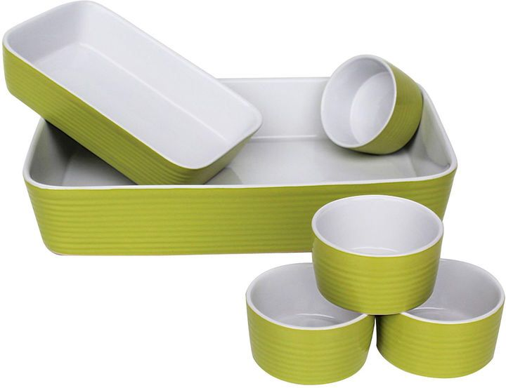 EUROCERAMICA Euro Ceramica 6-pc. Ceramic Bakeware Set