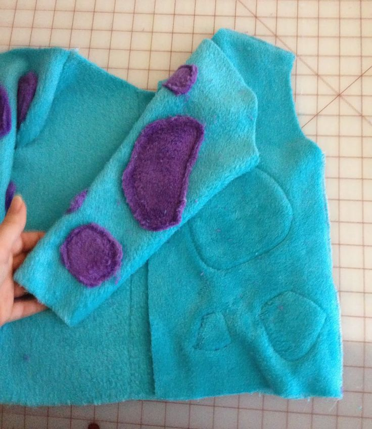Sully From Monsters Inc. Costume Tutorial
