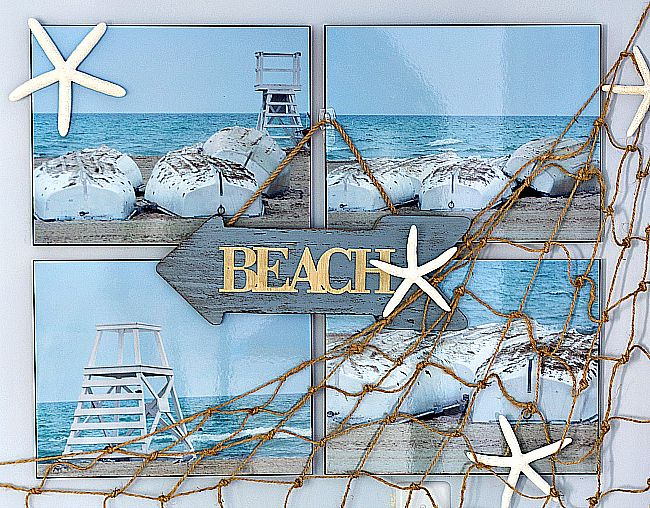 Beach Wall Decor - It All Started With Paint