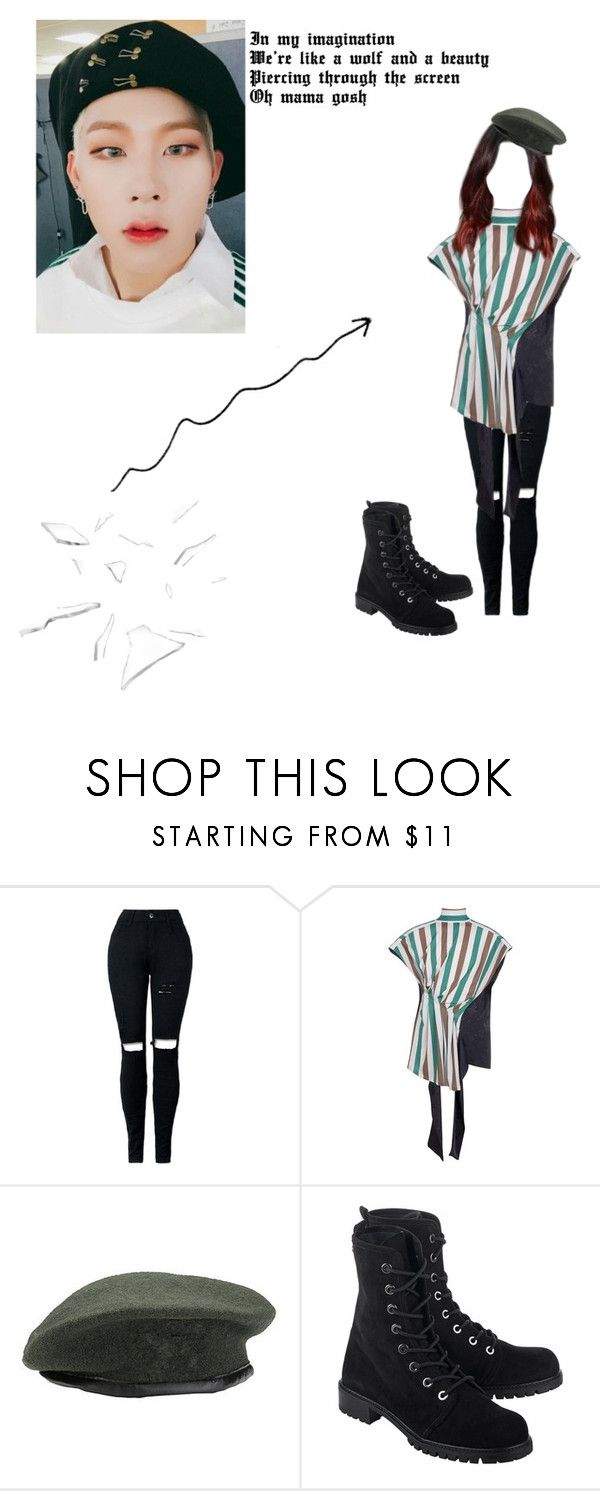 """""""I'll be you lieutenant and you can be my general"""" by xxkatelynn-lacolexx ❤ liked on Polyvore featuring Loewe and Stuart Weitzman"""