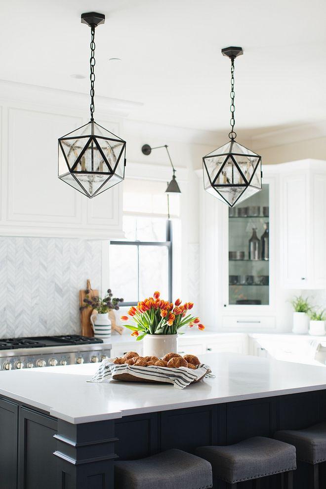 Zeno 4 Bulb Hedron Lantern New kitchen lighting