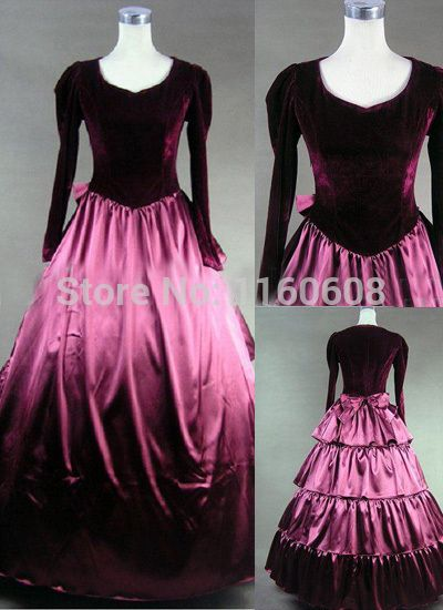 Superb Purple Gothic Victorian Dress //Price: $US $140.00 & Up To 18% Cashback //     #gothicoutfit
