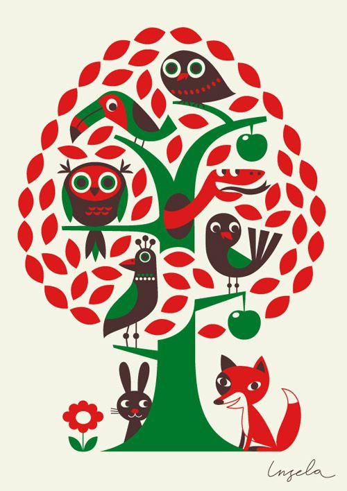 Ingela P Arrhenius in the ILLUSTRATOR SPOTLIGHT | Illustrationmundo | Find an Illustrator
