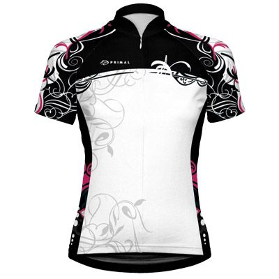 THIS is what I want to wear when I get back on the bike.     Primal Wear Cozmo Women's cycling Jersey $66.95
