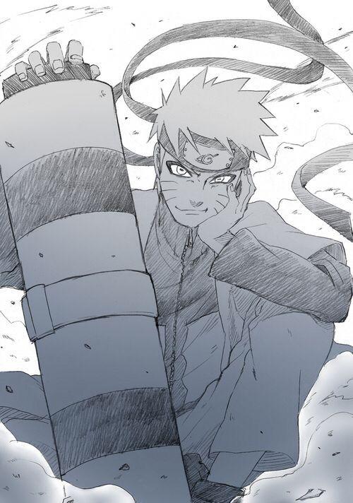 Naruto ermitaño
