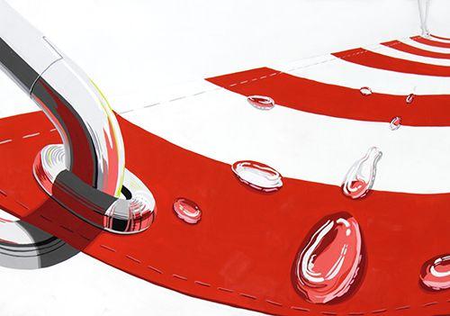2013年度 多摩美術大学 プロダクトデザイン専攻 合格者再現作品:色彩構成