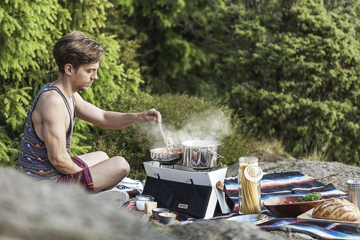 This stylish camping stove can be yours! We're running a camping food and camping recipe contest during the summer 2016.