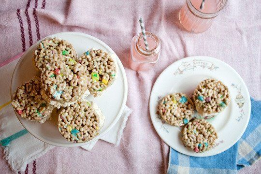 lucky charms ice cream sandwiches lucky charms marshmallows rice ...