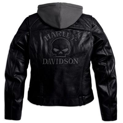 Harley Davidson Black Label Hooded Zipper