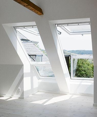 Een uniek balkon in uw huis - het Cabrio dakraam van VELUX