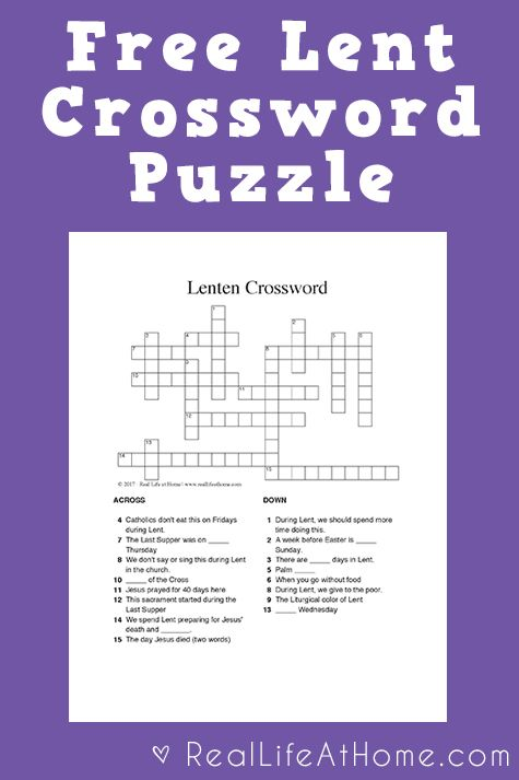 Looking for a fun activity during Lent for kids and teens ...