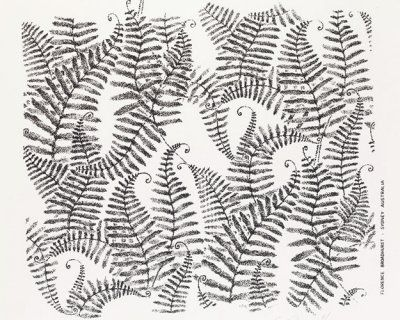 Florence Broadhurst | Small Ferns Print |