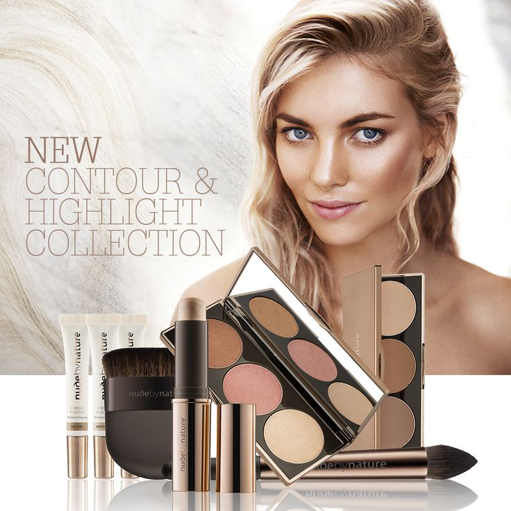 NEW Contour & Highlight Collection  www.nudebynature.com.au/contourcollection  Introducing the new Contour and Highlight collection from Nude by Nature.  Define your features so simply and easily, to create a sculpted and glowing look that is naturally yours.