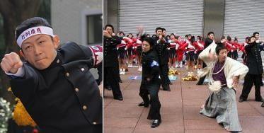 """""""Суровые японский чирлидеры""""  Как-то на уроке Суто-сенсей рассказал нам, что в школе во время спортивных соревнований был лидером группы поддержки. Мы удивились: «Разве чирлидеры – не исключительно девушки в коротких юбках?»"""