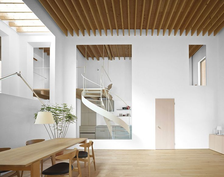 Repository, Asahikawa, Hokkaido, Japan - Jun Igarashi Architects #stairs