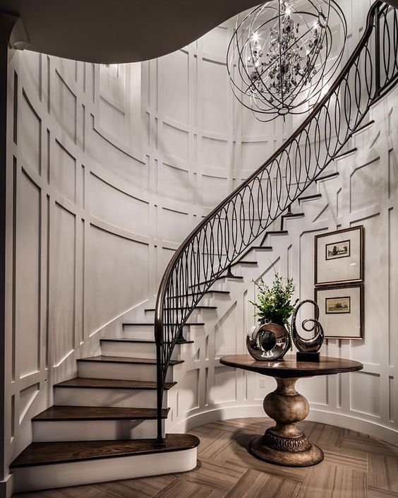 Foyer Staircase, House Stairs