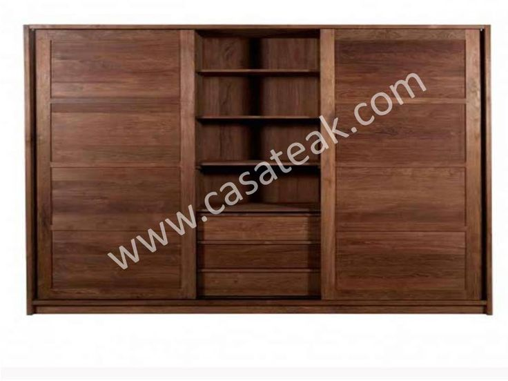 Teak wood Wardrobe Furniture #Solidwoodfurniture #FurnitureShop #IndoorFurniture #SolidwoodFurniture #ModernFurnitureMalaysia #DesignerFurniturekl #pintrestPictures