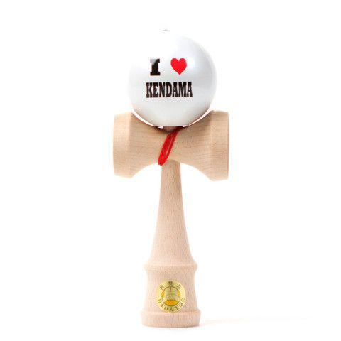 Kendama USA - Ozora - I Heart Kendama - White Ball