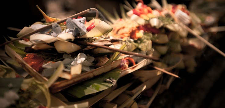Banten - offerings made as a sign of obedience to the gods, decorate every part of this magical island