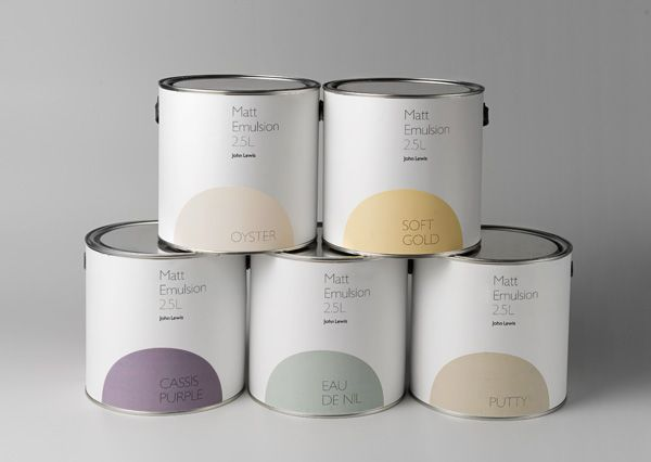 Paint packaging by Charlie Smith Design