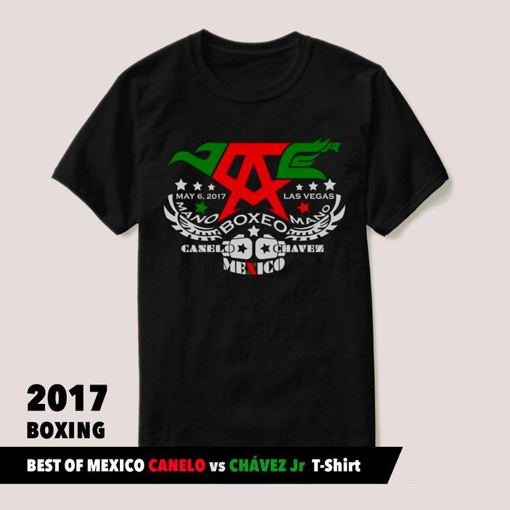 CINCO DE MAYO 2017 BOXING • Event Shirt #CANELOCHAVEZJR #TEAMCANELO #TEAMCHAVEZJR