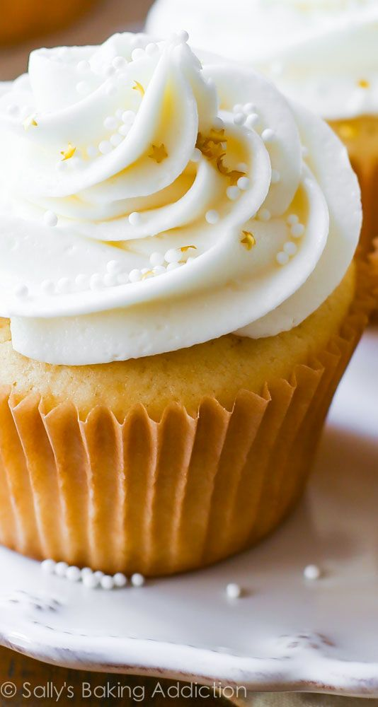 My White Wedding Cupcakes recipe - a truly elegant treat for the most special day!