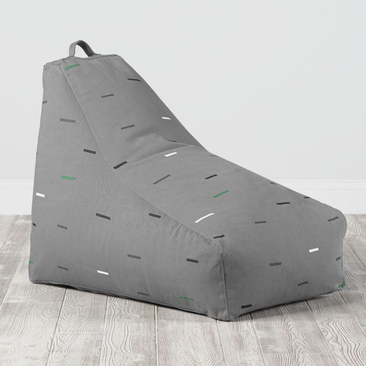 Shop Bean Bag Lounger (Grey).  We've reshaped the way you'll think about bean bags with this bean bag lounger.