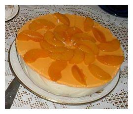 веганский торт с апельсиновым соком и персиками | Классные вегетарианские рецепты