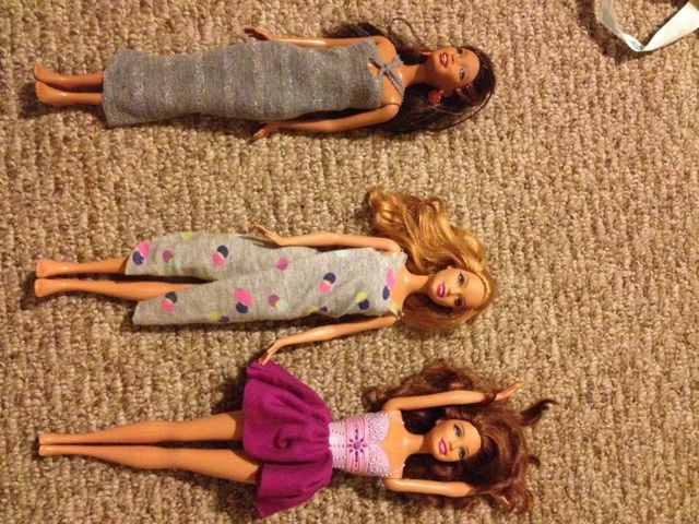 Three J's and Y: No Sew Barbie Doll Clothes
