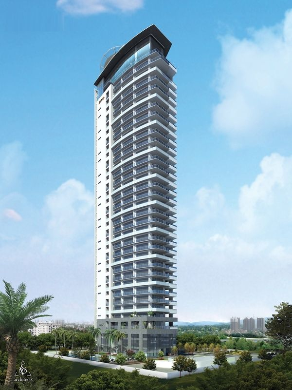 Residential building elevations highrise skycrapers for Best elevations residential buildings