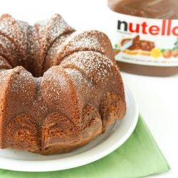 Pure Nutella cake: Desserts Recipe, Pure Nutella, Nutella Cakes, Nutella Bundt Cakes Recipe, Food And Drinks, Food Blog, Diego Food, Eating Cakes, Nutella Recipe