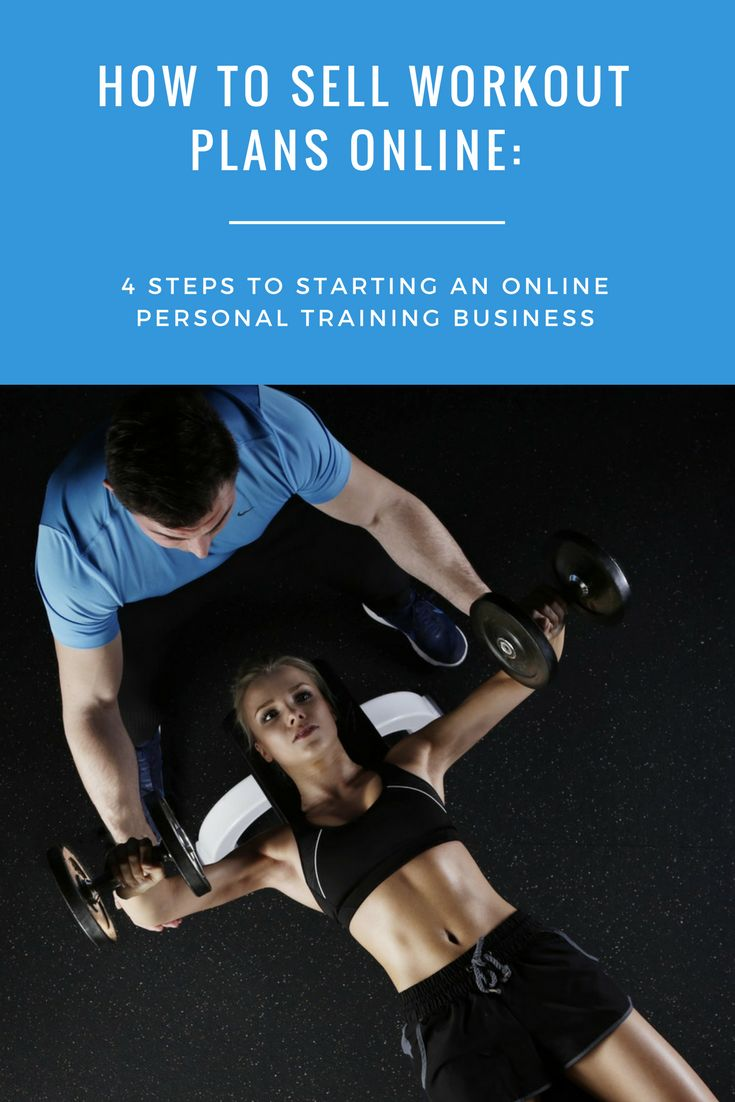Find out the best way to start an online personal training business; if you already sell workout plans online, learn how to increase sales.