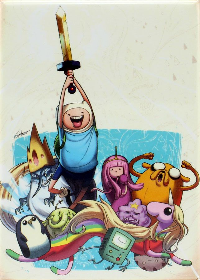 - Officially Licensed - Approximately 3.5 inches tall x 2.5 inches wide - Great for Adventure Time fans! - Made in China