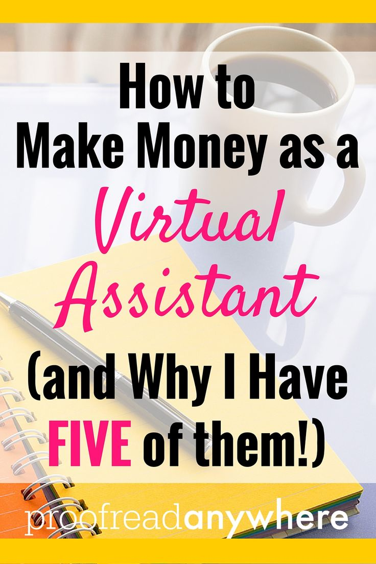Yes, I have FIVE virtual assistants. A whole team that helps me out with various tasks. So I know there's a demand! Check out this post to find out how to start marketing your skills as a virtual assistant.