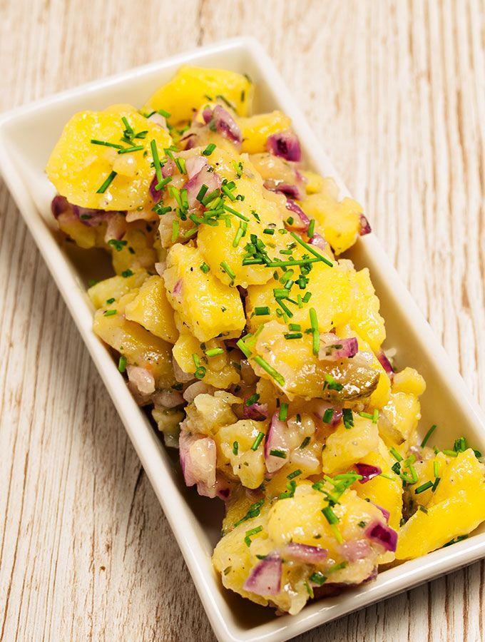Bayrischer Kartoffelsalat Rezept Salade Recepten Potato Salad