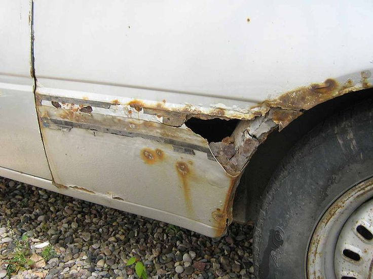 how to fix small rust spotson car