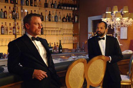 James Bond and Felix Leiter
