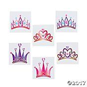 Princess Tiara Tattoo Assortment