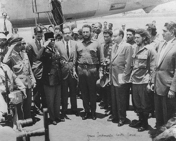 Our first president Soekarno with Castro and Che, it was just amazing moment