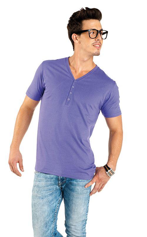 Camiseta Roly Boston color lila