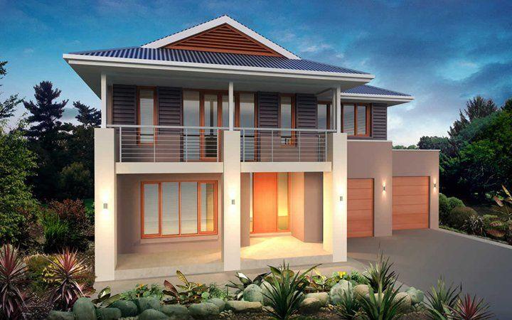 Metricon home designs the lindrum plantation facade for Home designs victoria