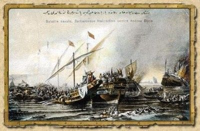 A Holy League, which consisted of all the Italian states and Spain, was formed in 1538 to drive the Ottomans back, but was defeated at the Battle of Preveza.
