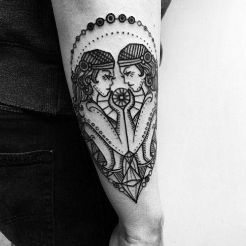 gemini tattoo tumblr - Pesquisa Google