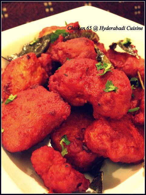Hyderabadi Cuisine: Hyderabadi Chicken 65