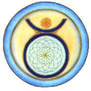 Taurus Mandala by Helen Grant-Johnston
