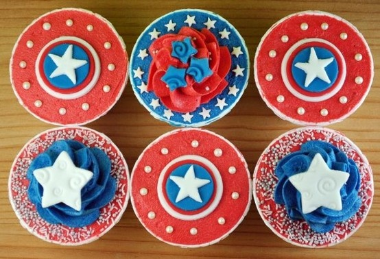 Captain America Themed Birthday Party   Family and Life in Las Vegas