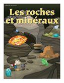 Les roches et minéraux, activités pour enfants.