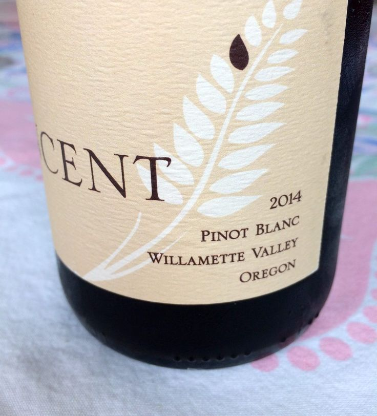 2014 Vincent Wines Pinot blanc