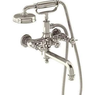 Arcade Bathrooms ARC19 Arcade Wall Mounted Bath Shower Mixer Nickel