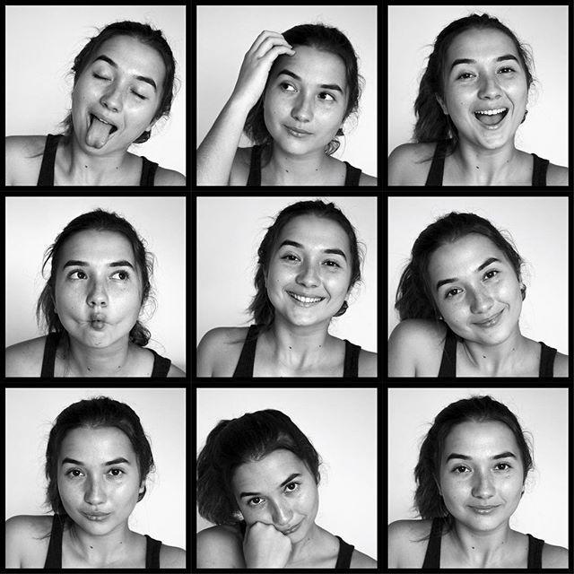 Raw Expression Model Portraitphotography Portrait Girl Headshot B W Blackandwhitephoto Expressi